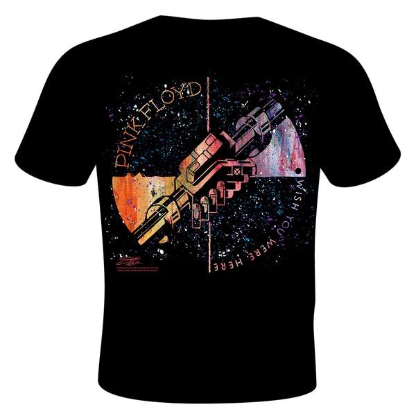 Stephen Fishwick Pink Floyd 'Machine Greeting Orange' T-shirt