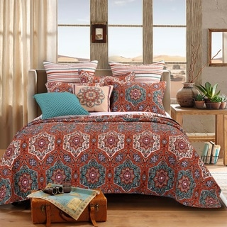 Barefoot Bungalow Sofia 3-piece Quilt Set - Multi