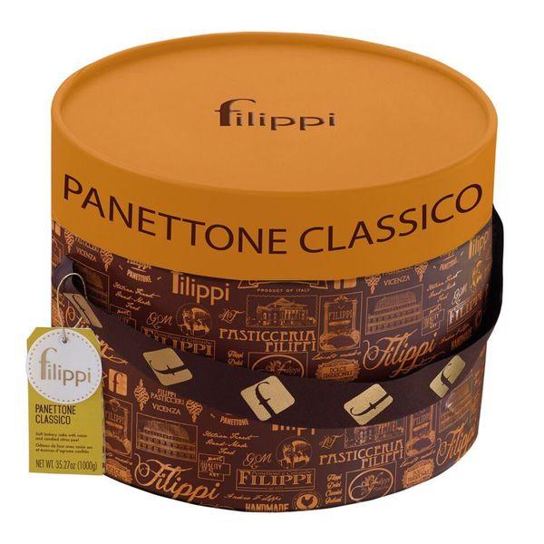 igourmet Avorie Classic Panettone in Hatbox by Filippi