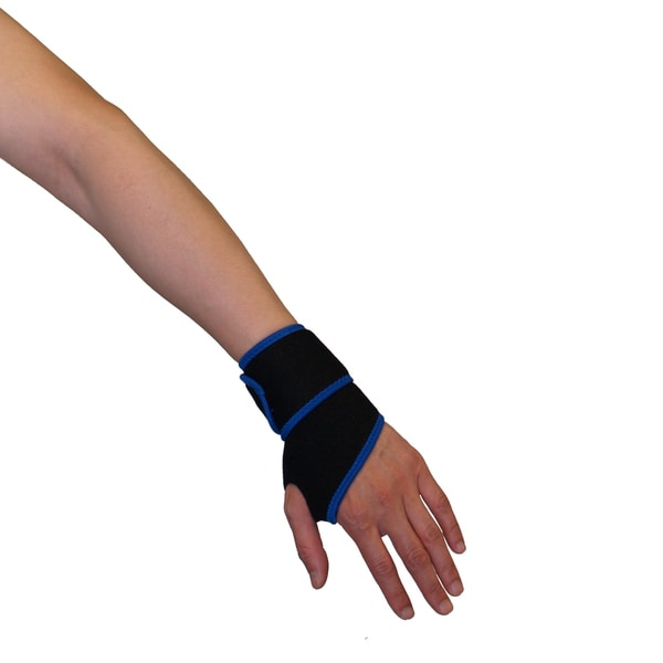 Protexx Black Neoprene Wrist Support Brace