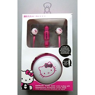 Hello Kitty Pink Earbuds
