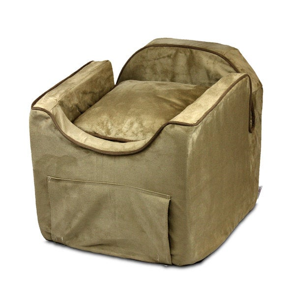 Snoozer Luxury Microsuede Lookout II Dog Peat Car Seat