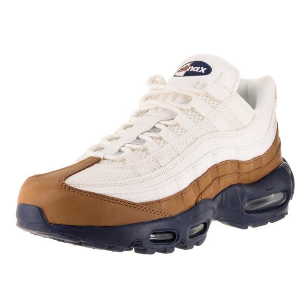 Nike Men's Air Max 95 White Textile Running Shoe