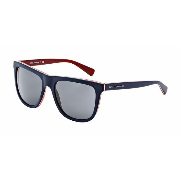 Dolce & Gabbana Mens DG4229 URBAN 187287 Blue Plastic Square Sunglasses