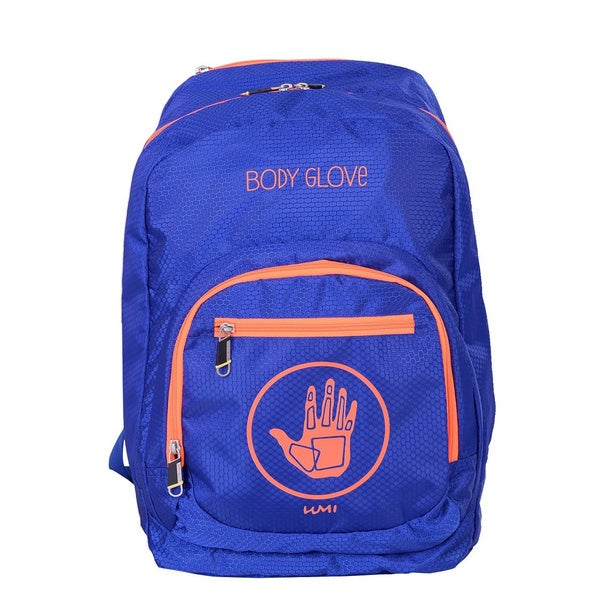 Body Glove Umi Blue/Orange 15-inch Laptop Backpack