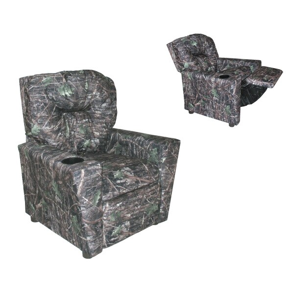 Dozydotes Cup Holder Camouflage Real Tree Conceal Kid Recliner 22314741