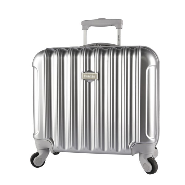 Kensie Metallic 17-inch Laptop Spinner Briefcase