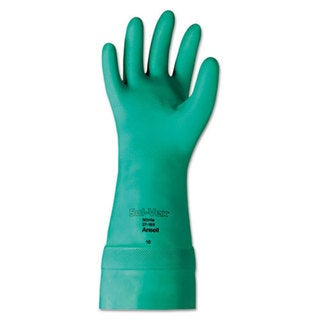 AnsellPro Sol-Vex Nitrile Gloves, Size 10, 12 Pair/Pack