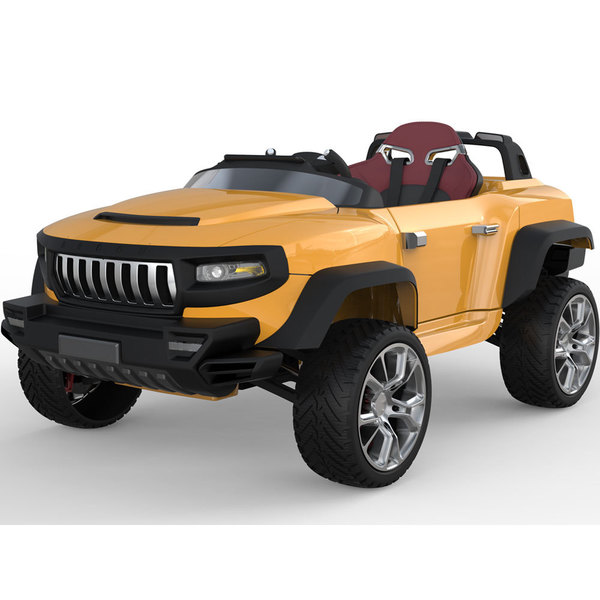 Henes Broon T870 Orange 4x4 Ride-On Car 24v with Tablet (RC)