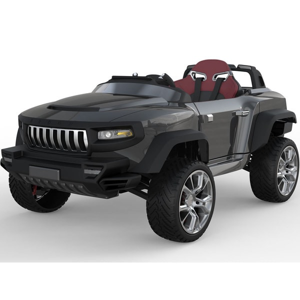 Henes Broon T870 Black 4x4 Ride-On Car 24v with Tablet (RC)