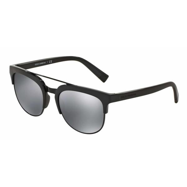 Dolce & Gabbana Mens DG6103 501/6G Plastic Plastic Square Sunglasses