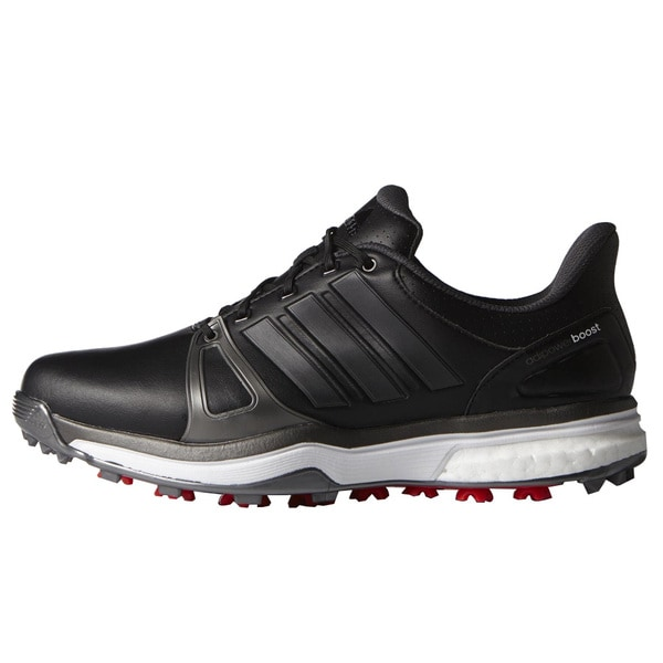 Adidas Adipower Boost 2 Golf Shoes Core Black/Dark Silver Metallic