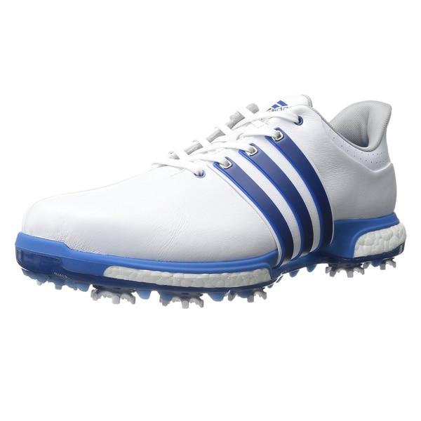 Adidas Tour360 Boost Golf Shoes White/Blue