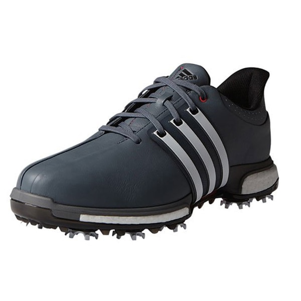 Adidas Tour360 Boost Golf Shoes Grey/Red