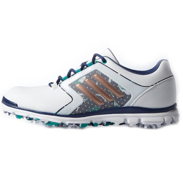Adidas Adistar Tour Golf Shoes Ladies FTWR White/Copper
