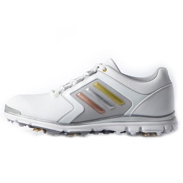 Adidas Adistar Tour Golf Shoes Ladies White/Silver