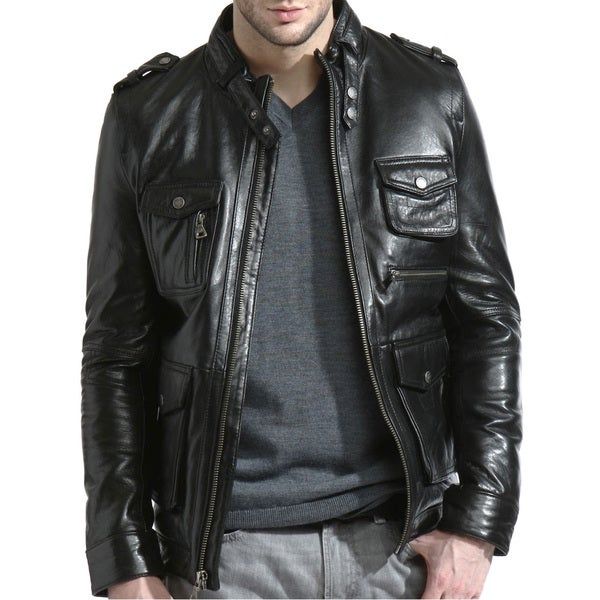 Tanners Avenue Men's Ultimate Leather Moto Jacket