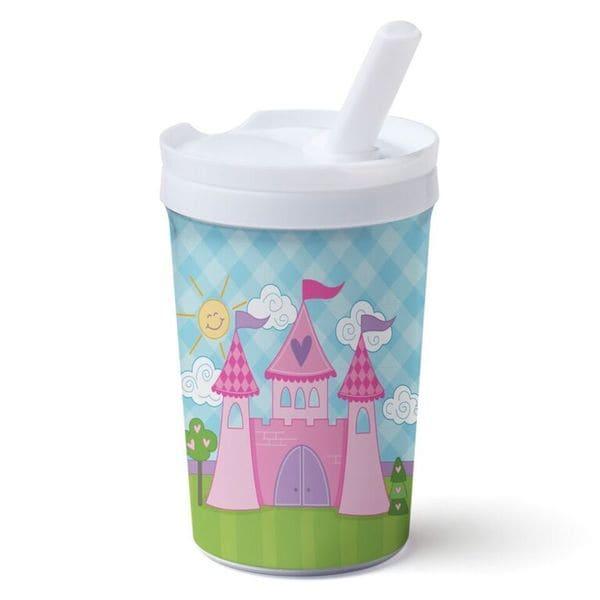 Princess Castle Multicolored Plastic Sippy Cup 22320963
