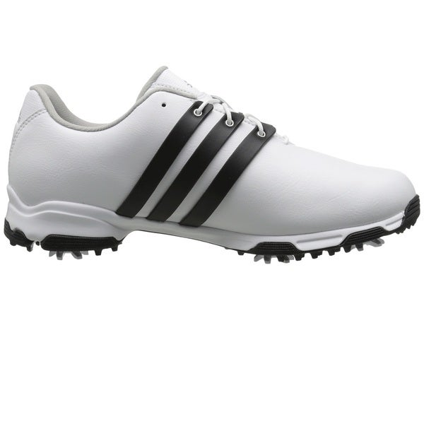 Adidas Men's Pure TRX White/ Core Black/ White Golf Shoes