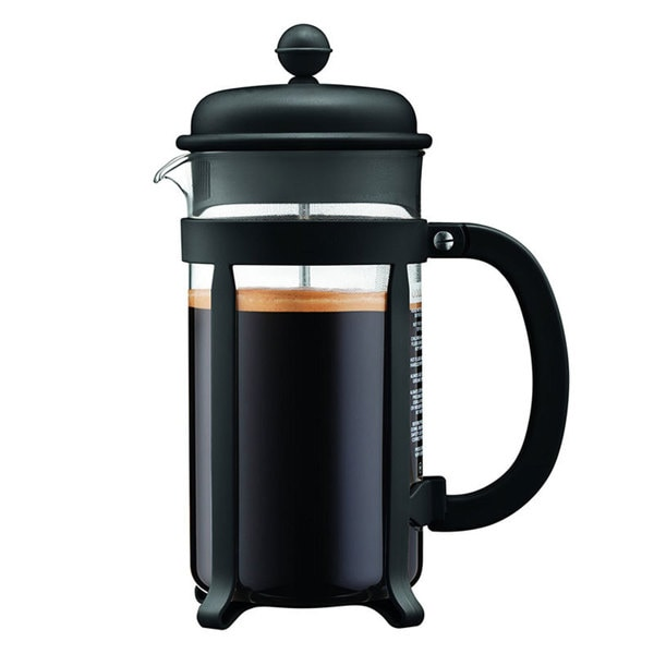 Bodum 8 Cup Java French Press Coffee Maker, 34 oz, Black 22321167