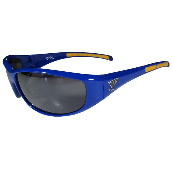 NHL St. Louis Blues Wrap Sunglasses