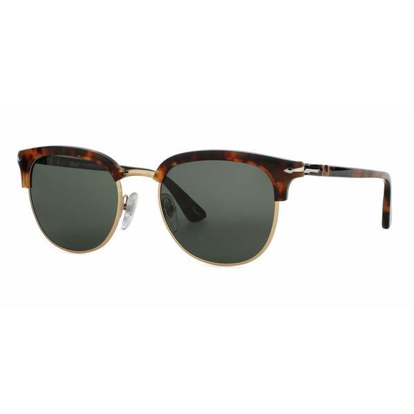 Persol Mens PO3105S 108/58 Havana Plastic Phantos Sunglasses