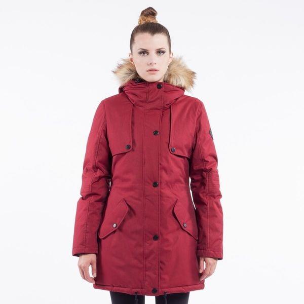 Noize 'Dani' Women's Faux Fur-hooded Parka Coat