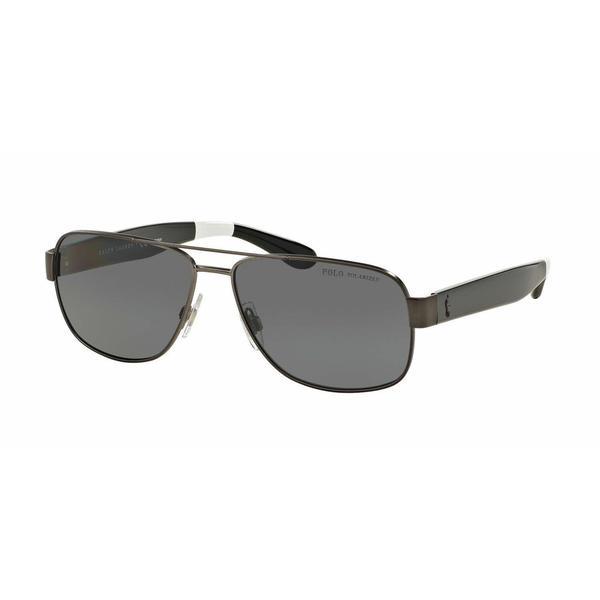 Polo Mens PH3097 930781 Gunmetal Metal Cateye Sunglasses