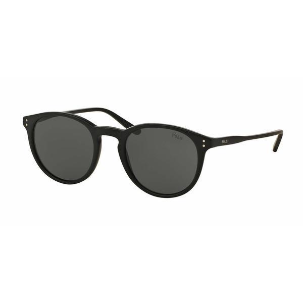Polo Mens PH4110 528487 Black Plastic Phantos Sunglasses
