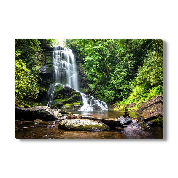 Upper Catabwa Falls, Canvas Gallery Wrap
