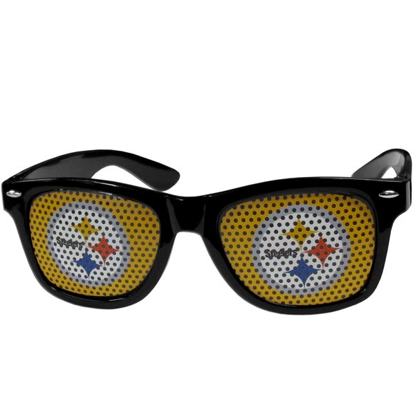 NFL Pittsburgh Steelers Black Plastic Game Day Shades 22334075