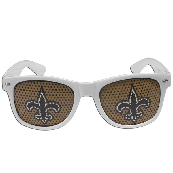 NFL New Orleans Saints White Plastic Game Day Shades 22334088
