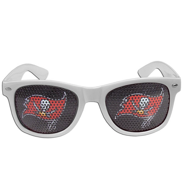 NFL Tampa Bay Buccaneers White Plastic Game Day Shades 22334172
