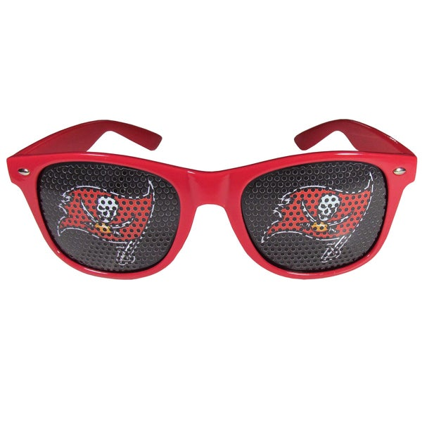NFL Tampa Bay Buccaneers Red Plastic Game Day Shades 22334174
