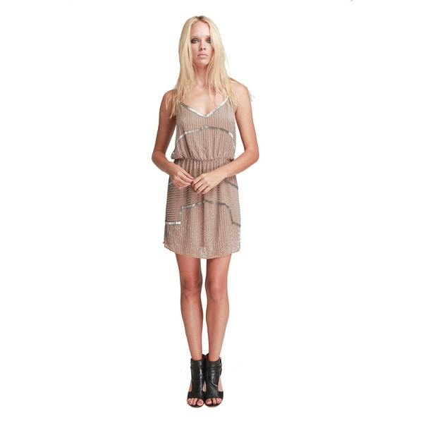 Walter Baker Women's Destiny Taupe A-line Dress
