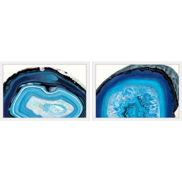 Blue Pools Diptych