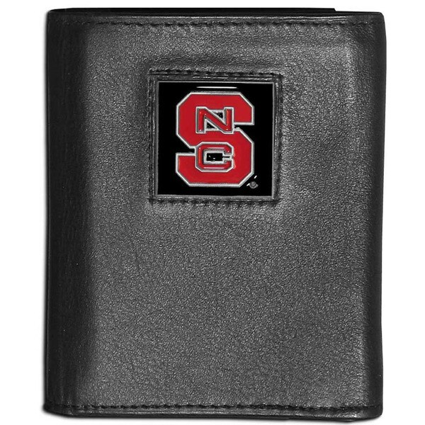 Collegiate North Carolina State Wolfpack Leather Tri-fold Wallet