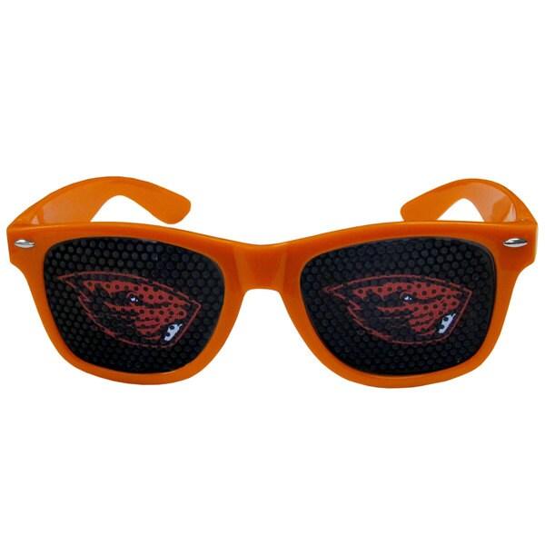 Collegiate Oregon State Beavers Orange Plastic Game Day Shades 22335353