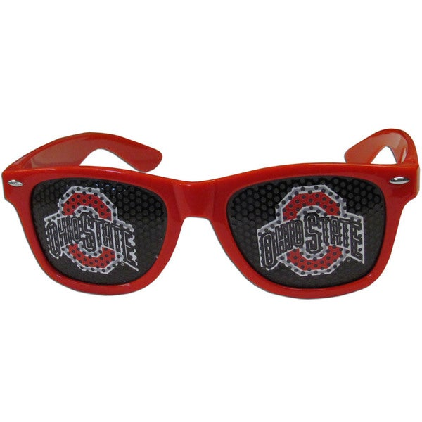 Collegiate Ohio St. Buckeyes Red Game Day Shades 22335446