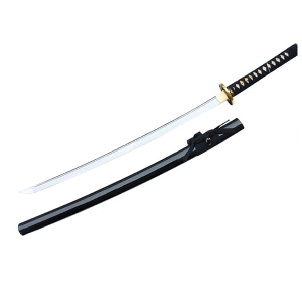 Defender 1060 Carbon Steel Hand Forged 40.5 Katana Samurai Sword with Wood Scabbard 22336347