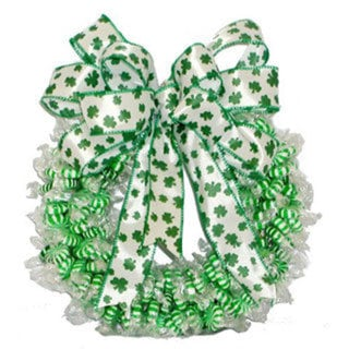 Spearmint Twist Wreath
