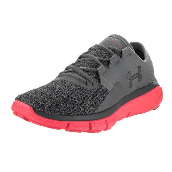 Under Armour Women's UA Speedform Fortis 2 Txtr Grey Textile Running Shoes