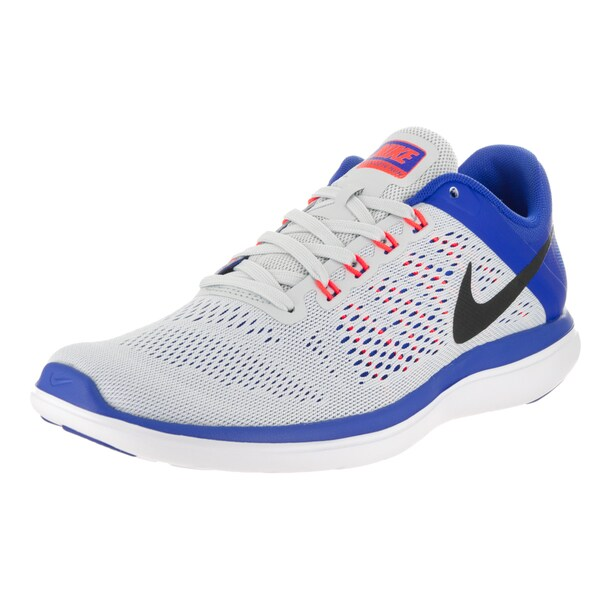 Nike Men's Flex 2016 Grey Textile Running Shoes