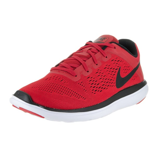 Nike Boys' Flex 2016 Run (GS) Red Phylon Running Shoes
