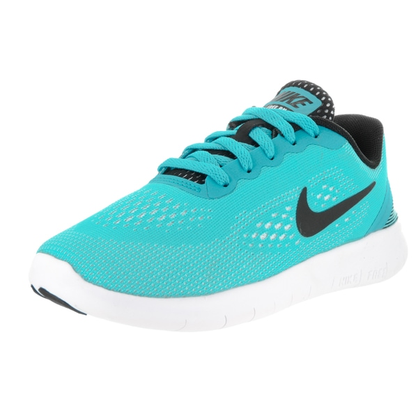 Nike Kids' Free Rn (PS) Blue Running Shoe