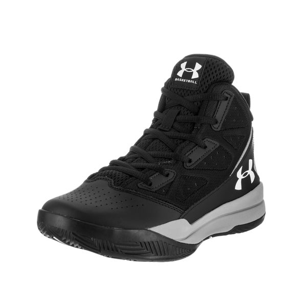 Under Armour Kids BGS Jet Mid Basketball Shoe