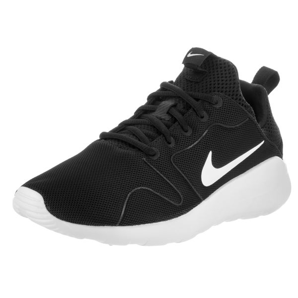 Nike Men's Kaishi 2.0 Black Mesh Running Shoes