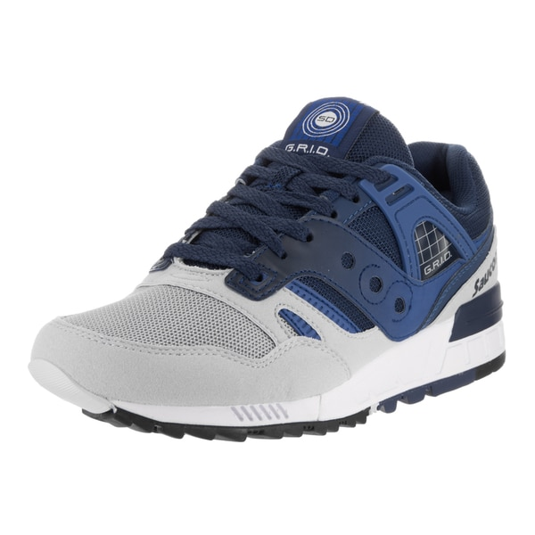 Saucony Men's Grid SD Blue Suede Running Shoes