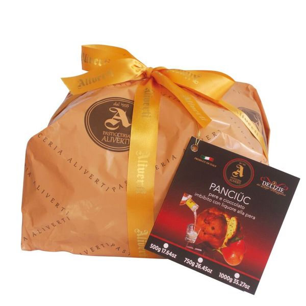 igourmet Chocolate & Pear Liquor Panettone by Pasticceria Aliverti