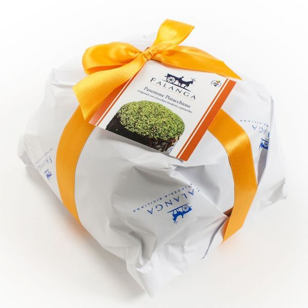 igourmet Chocolate Covered Panettone with Pistachio by Falanga - 850g